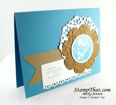 Stampin' Up! Serene Silhouettes & Petite Pairs