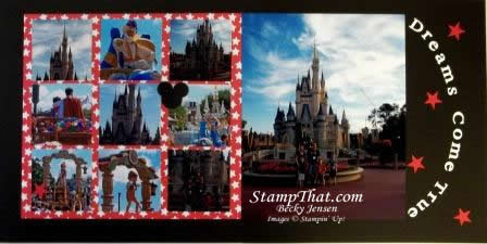 Dreams Come True – Scrapbooking Disney