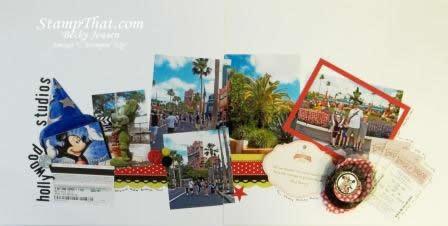 Scrapbooking Disney's Hollywood Studios