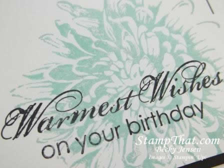 Another Blooming with Kindness Birthday Card