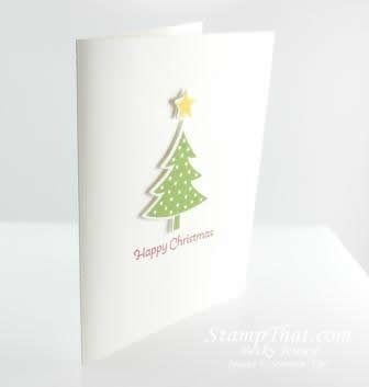 Simple Scentsational Season Christmas Card