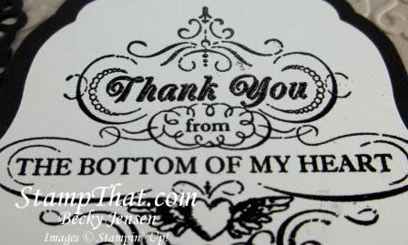 Stampin' Up! From My Heart