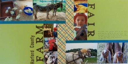 Scrapbooking Haroftd County Farm Fair