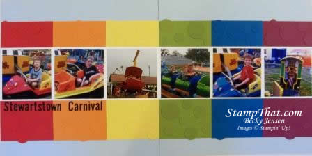Stewartstown Carnival Scrapbook Pages