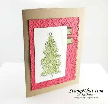 Stampin' Up! Evergreen Card
