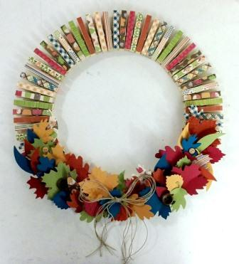 Fall Wreath Kits Available by Mail