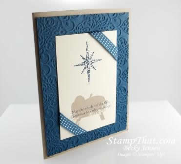 First Christmas Handmade Cards