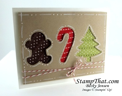 Holiday Collection Framelits Christmas Card