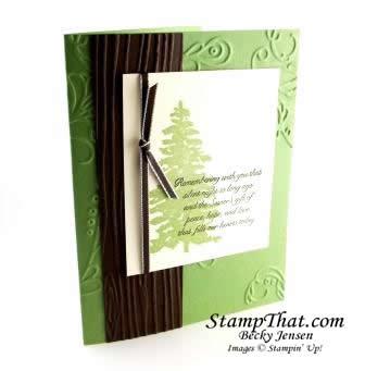 Wild Wisabi Evergreen Christmas Card
