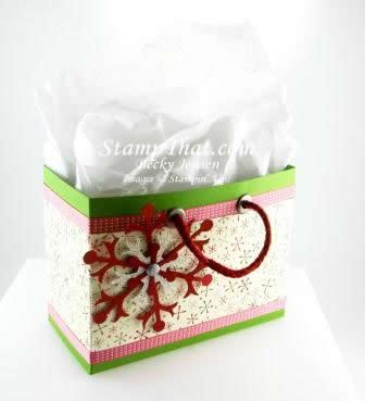 Be of Good Cheer Christmas Gift Bag