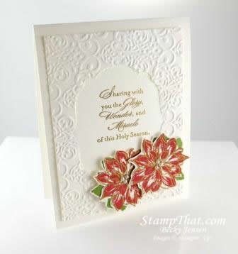 Watercolor Winter Frame Card