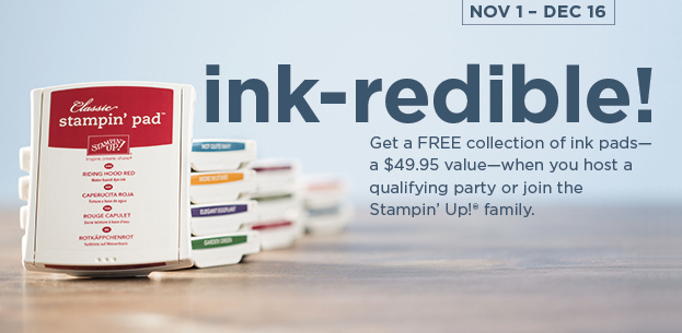 Ink-redible Stampin&#8217; Up! Deal!