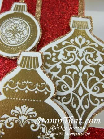 Ornament Keepsake Picture Frame