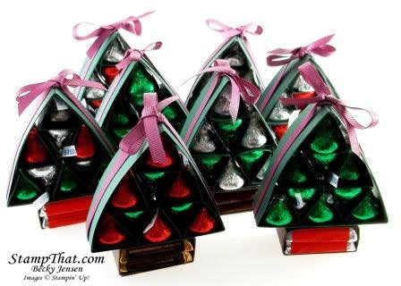 Hershey Chocolate Christmas Trees