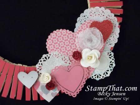 Stampin' Up! Valentine Decor
