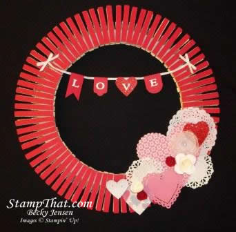 Love Wreath - Home Decor
