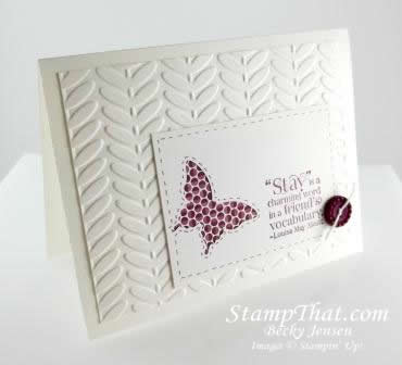 Stampin' Up! Bloomin' Marvelous Stamp Set
