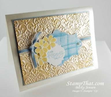 Stampin' Up! Bloomin' Marvelous