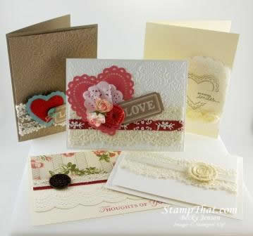 Stampin' Up! Artisan Embellishments Card Class