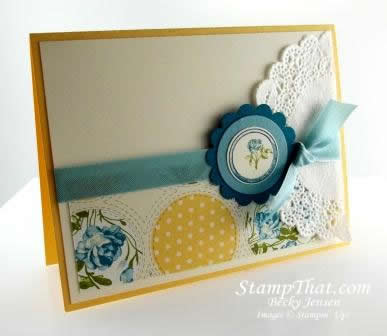 Stampin' Up! Collage Curios stamp set