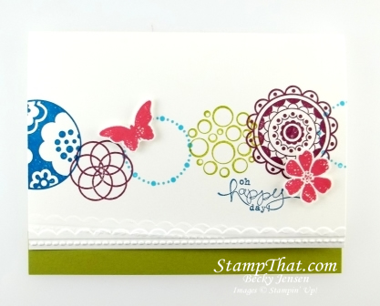 Stampin' Up! Circle Circus stamp set