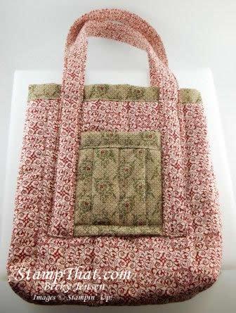 Deck the Halls Fabric purse