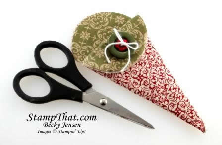 Stampin' Up! Fabric Paper Snips Holder
