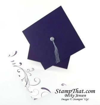 Graduation Card Using Stampin' Up! Product