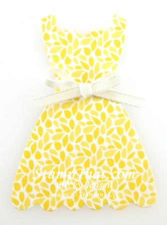 Stampin' Up! DSP Dress