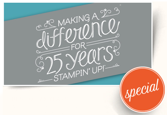 Stampin' Up! 25 Years