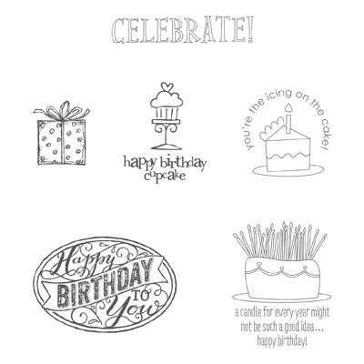 Stampin' Up! Best of Birthday stamps