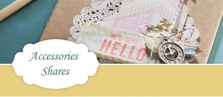 Stampin' Up! Spring Catalog Accessories share