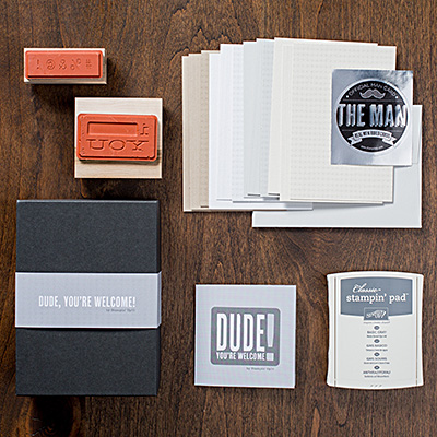 Stampin' Up! Dude kit