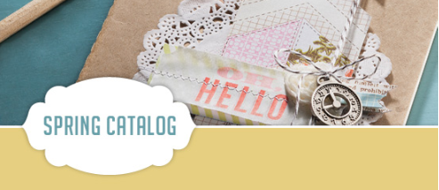 The Stampin' Up! Spring Catalog is here!