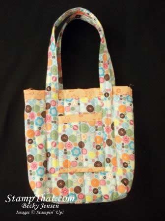 Stampin' Up! Fabric Bag00_3378