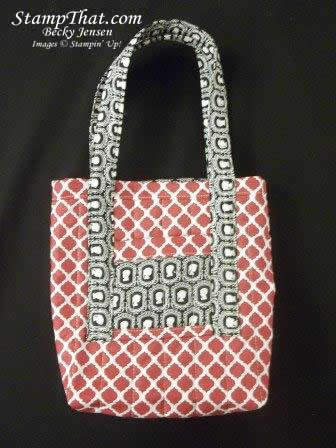 Essentials Designer Fabric Bag