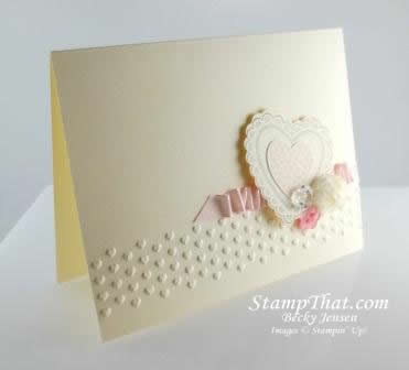 Hearts a Flutter Card