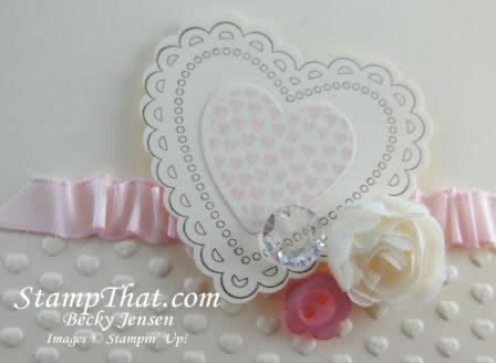 Hearts a Flutter &#8211; Simple &amp; Delicate Card