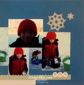 Stampin' Up! Snowflake Soiree