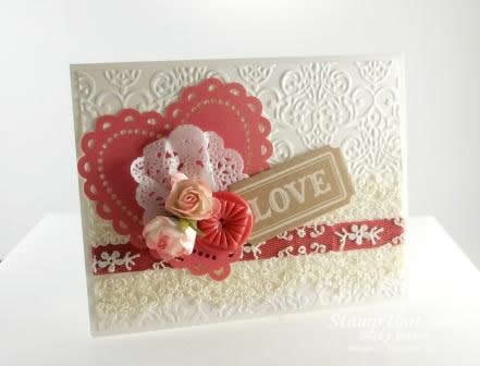 Artisan Embellishment Stampin&#8217; Up! Card