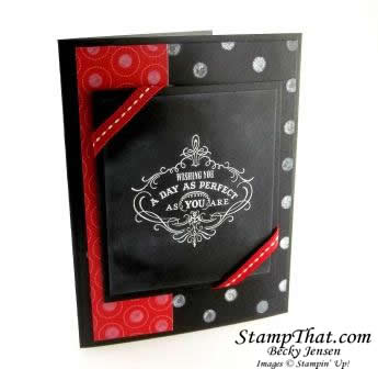 Stampin' Up! Vintage Verses stamp set