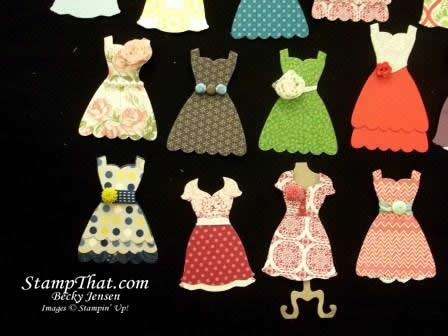 Stampin' Up! Dress Up Framelit Dies