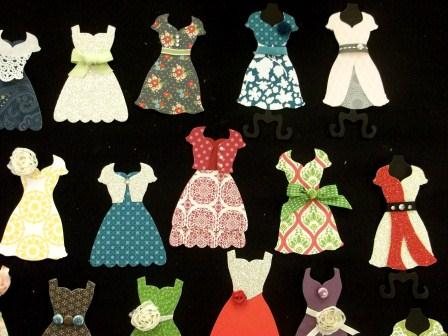 Stampin' uP! Dresses