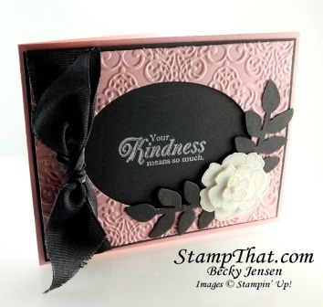 Stampin' Up! Secret Garden stamp set