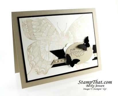 Handmade Swallowtail Card – Spring Catalog