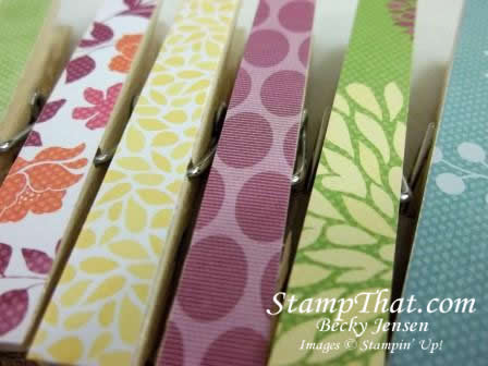 Stampin' Up! Floral District DSP
