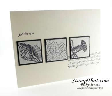 Stampin' Up! By the Tide stamp set