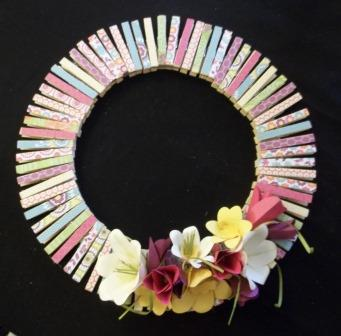 Spring Wreath Class Pictures
