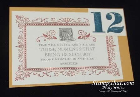 stampin' Up! Fan Fair DSP