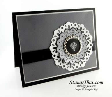 Stampin' Up! Quint-Essential Flower Stamp